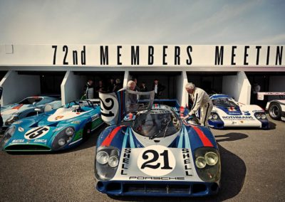 Luxury Self Catering - The Goodwood Members Meeting - 5 racing cars and their drivers at the 72nd Members Meeting