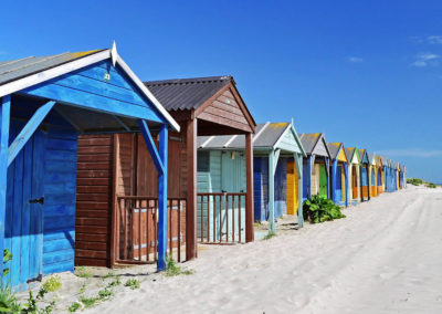 Luxury Self Catering - West Wittering Beach Huts multicoloured